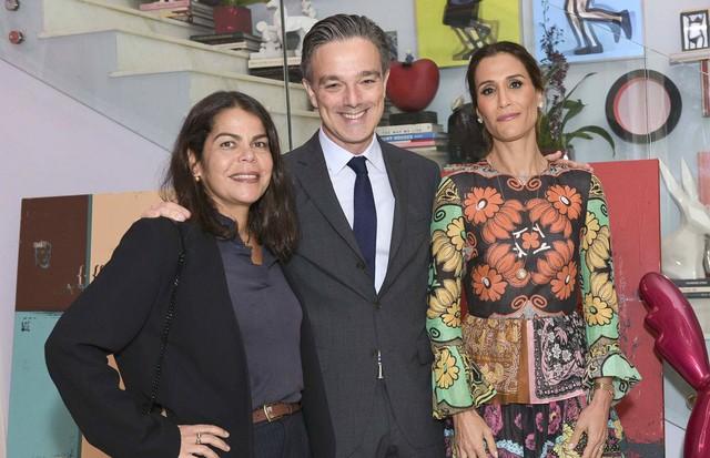 Daniela Falcão, Maxime Tarneaud e Carola Diniz (Foto: Lu Prezia)