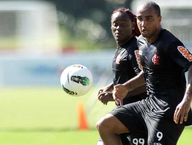 Deivid e Vagner Love, Flamengo (Foto: Maurício Val / VIPCOMM)
