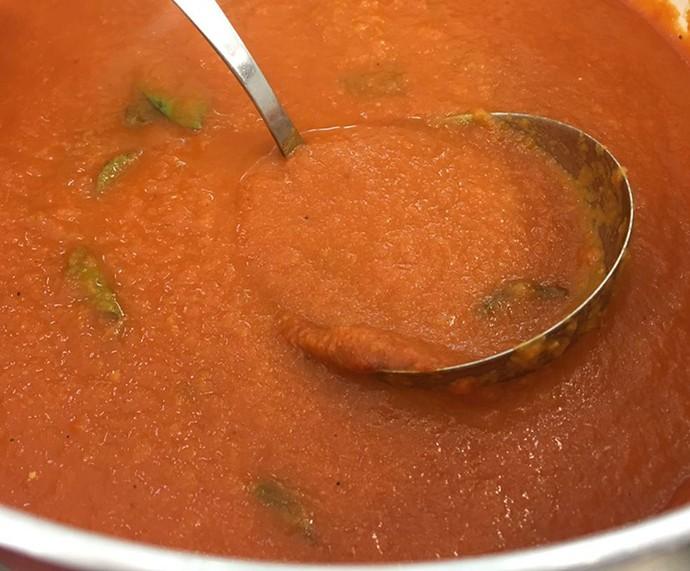 Caldo de Tomate (Foto: Daniela Meira/TV Globo)