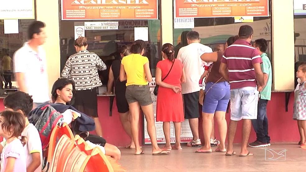 Entre os destinos mais procurados por passageiros em Imperatriz, estão algumas capitais do Nordeste, incluindo São Luís.  (Foto: Reprodução/TV Mirante)