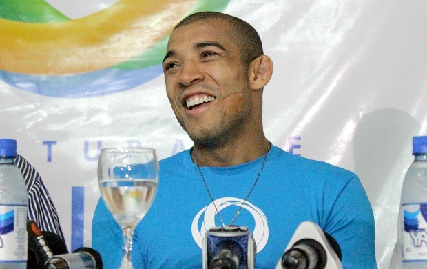 José Aldo em Manaus (Foto: Isabella Pina)