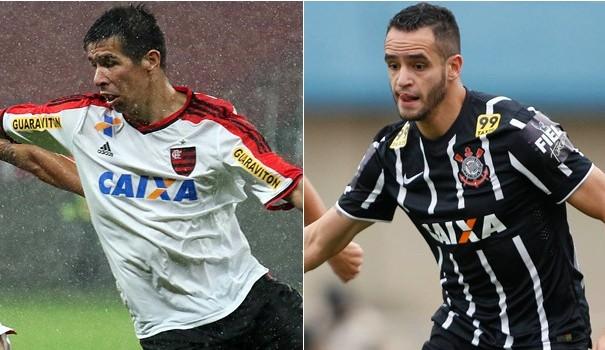 Flamengo e Corinthians se enfrentam na 13ª rodada do Brasileirão (Foto: Divulgação)