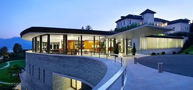 O SPA Clinique La Prairie, na Suíça (Foto: Divulgação)
