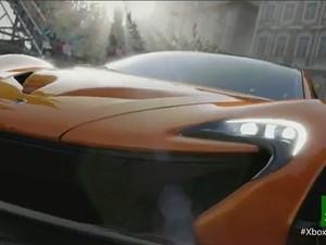 Imagem do novo game Forza 5, para Xbox One, console da Microsoft lançado nesta ferça-feira (21). (Foto: Reprodução)