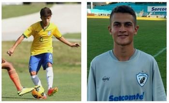 Arena Mapinguari recebe os jogadores Tiago Teles e Athirson (Foto: Editoria de Arte / GE)
