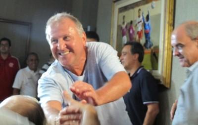 Zico no Flamengo (Foto: Thales Soares)