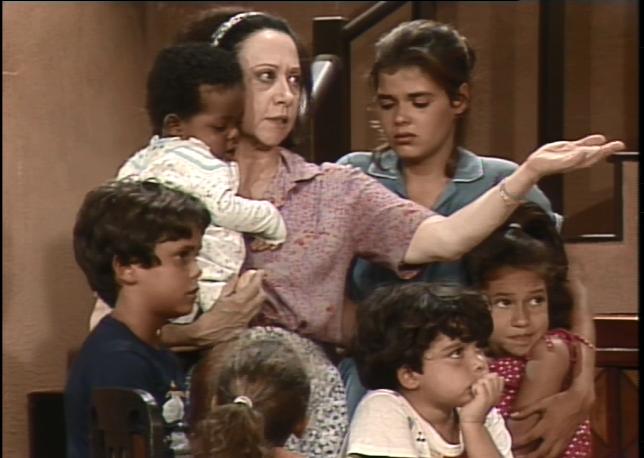 Crianas Cambalacho (Foto: Reproduo TV Globo)