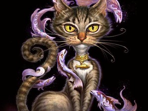 ilustração gato