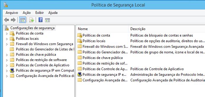 Administre a s regras do Windows com o Política de Segurança Local (Foto: Reprodução/Edivaldo Brito)