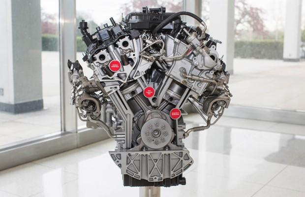 Novo motor V6 EcoBoost da Ford  (Foto: Divulgação)