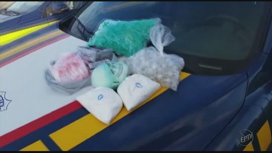 Adolescente é apreendido com 1 kg de pasta base de cocaína na Rodovia Fernão Dias, no Sul de MG