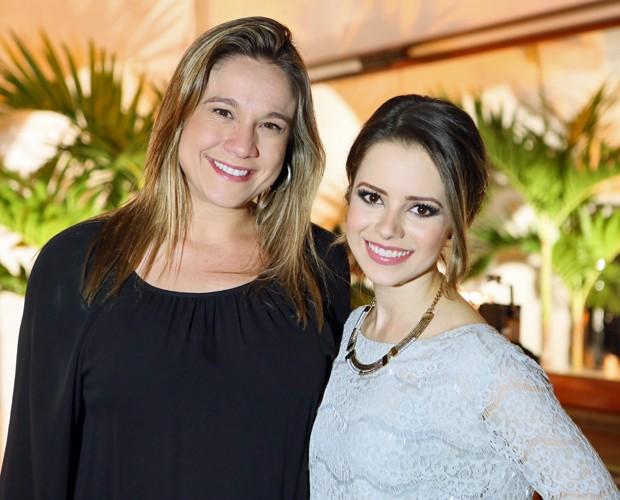 Fernanda Gentil tietou Sandy mais uma vez nos bastidores do SuperStar (Foto: Isabella Pinheiro / TV Globo)