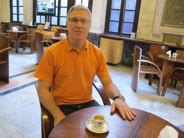 Químico e professor doutor Silvio José Valadão Vicente fez a descoberta (Foto: Mariane Rossi/G1)