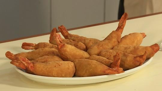 Camarão empanado é prato que encanta a modelo Gisele Bündchen
