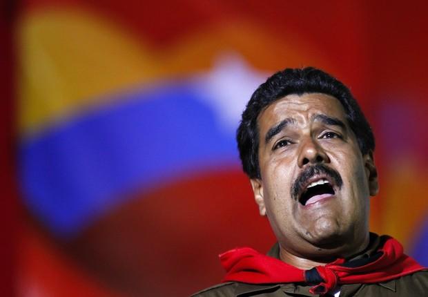 O presidente da Venezuela, Nicolás Maduro (Foto: Carlos Garcia Rawlins)
