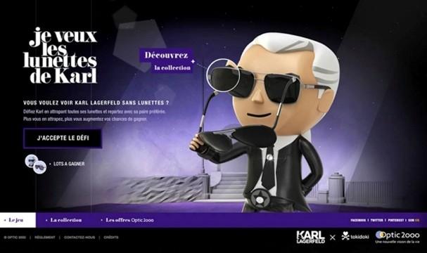 d94956c3e1b6e3 A última de Karl Lagerfeld  Ele virou personagem de videogame  3 ...