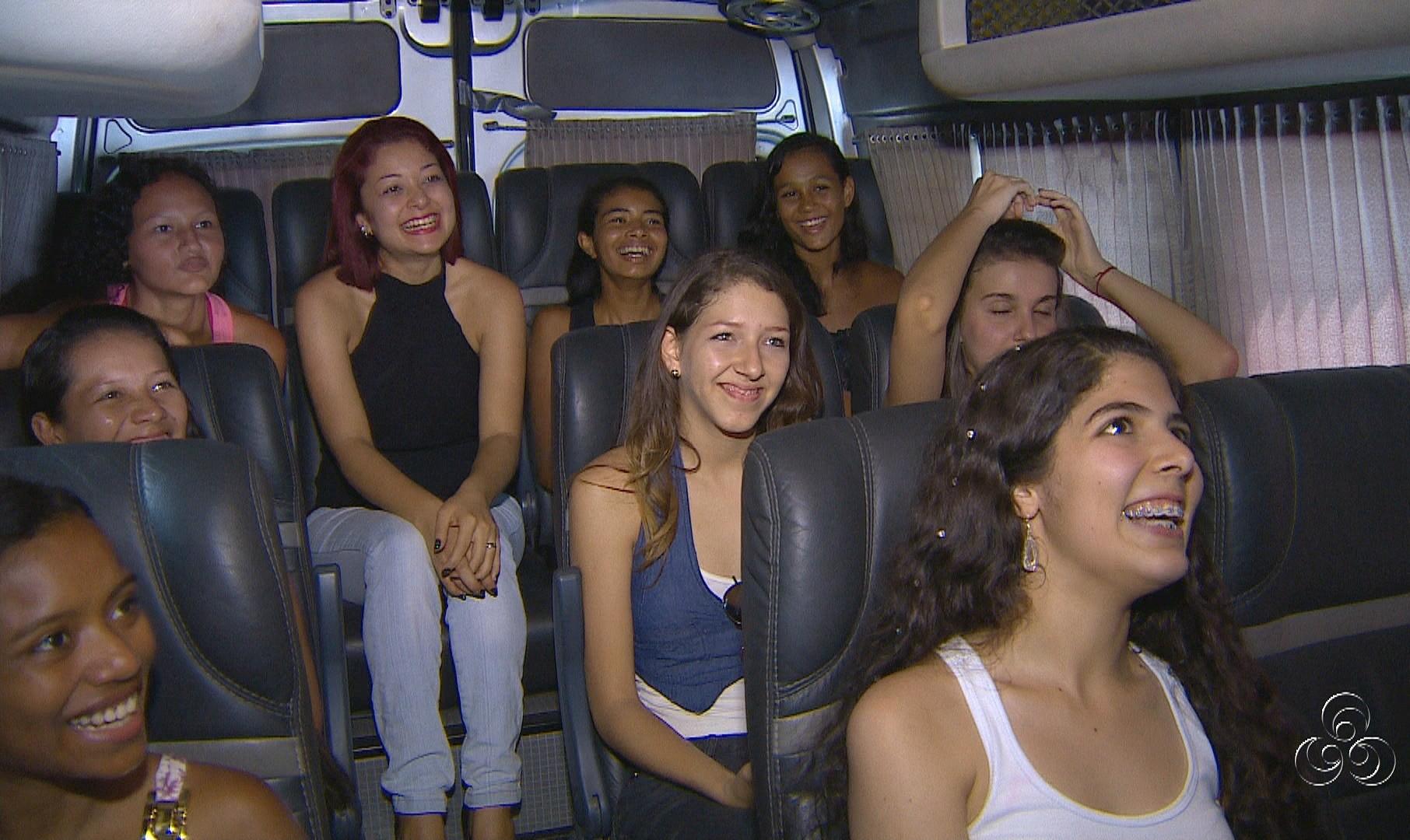 Meninas buscam a realização do sonho de ser modelo (Foto: Jornal do Amazonas)