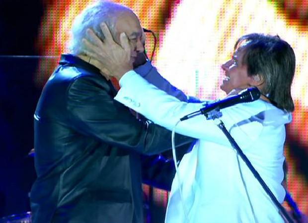Erasmo Carlos e Roberto Carlos (Foto: Reprodução)