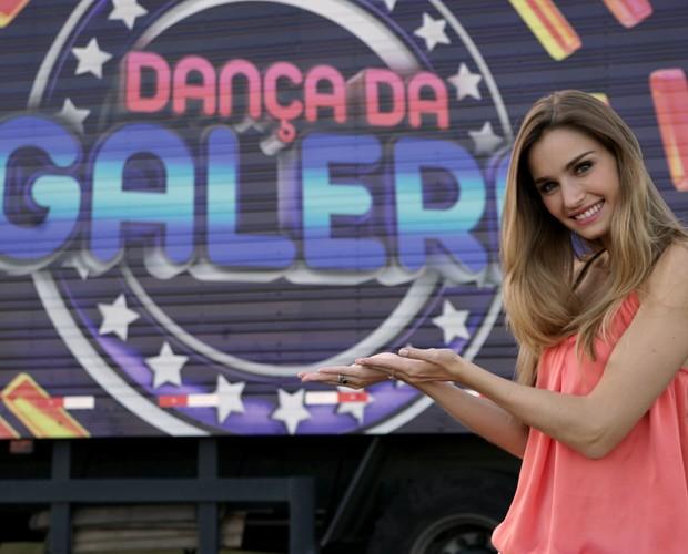 Participe você também do Dança da Galera! (Foto: Domingão do Faustão / TV Globo)