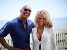 Pamela Anderson grava cenas de 'Baywatch' após criticar o remake