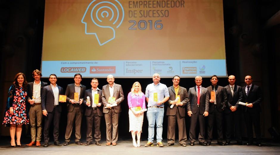 Vencedores do Prêmio Empreendedor de Sucesso 2016 (Foto: Rafael Jota)