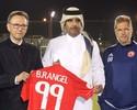 Com Oswaldo de Oliveira, clube árabe faz homenagem a B. Rangel e Chape