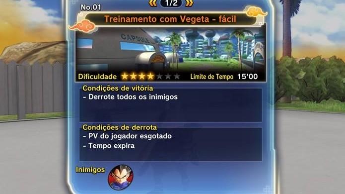 Dragon Ball Xenoverse 2: vença todos os desafios do Vegeta (Foto: Reprodução / Thomas Schulze)