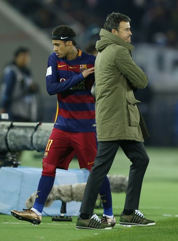 Neymar Luis Enrique Barcelona (Foto: Reuters)