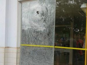 Bandidos assaltaram agência em Nova Maringá (MT) (Foto: Keyla Raysa/Arquivo pessoal)