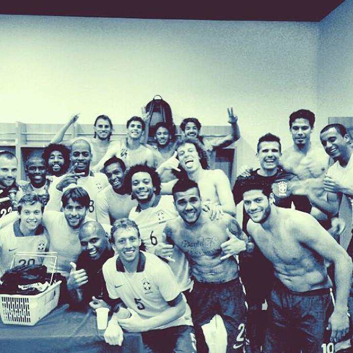 Vitória Seleção Brasileira Jogadores (Foto: Reprodução / Instagram)