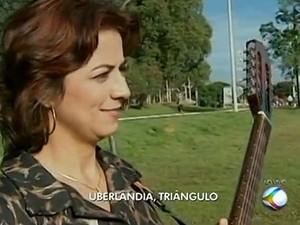 Músicos de Uberlândia e Araguari (Foto: Reprodução/TV Integração)