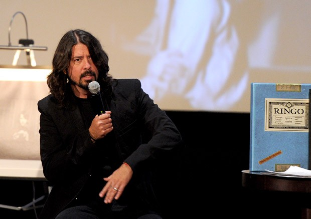 Dave Grohl participou do lançamento em Los Angeles (Foto: Kevin Winter/Getty Images/AFP)