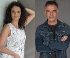 Malu Galli e Ângelo Antônio | Estevam Avellar e Pedro Curi/ TV Globo