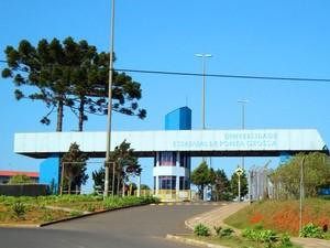 Campus de Uvaranas (Foto: Divulgação/UEPG)