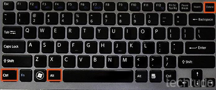 Atalho CTRL + ALT + DEL para teclado (Foto: Barbara Mannara/TechTudo)