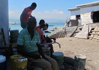 François Jerard Piere Haiti (Foto: Tahiane Stochero/G1)