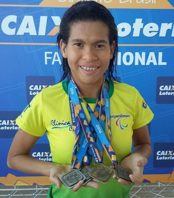 Rebeca Campos, paratleta acreana (Foto: Geison Moraes/ arquivo pessoal)