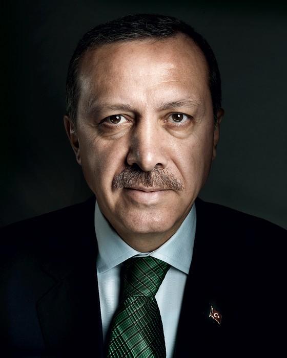Recep Tayyip Erdogan presidente da Turkia (Foto: Marco Grob / trunk archive)