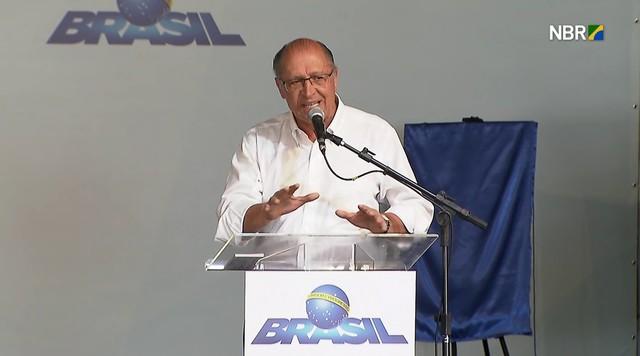 Alckmin diz que SP complementa valor dado pelo Governo ao Minha Casa Minha Vida