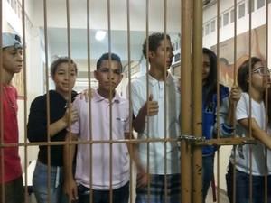 Alunos ocuparam escola Deputado Eduardo Barnabé, em Campinas (Foto: Coletivo Quinze de Outubro - Educadoras e educadores)
