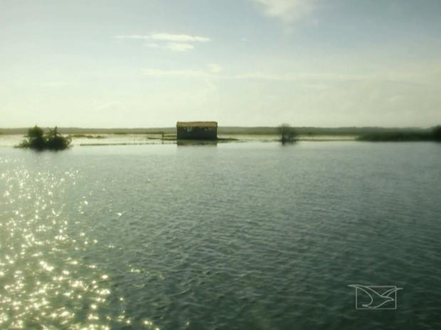 Rio Pericumã é rota de turismo em uma das regiões mais ecológicas do Maranhão (Foto: Reprodução/TV Mirante)
