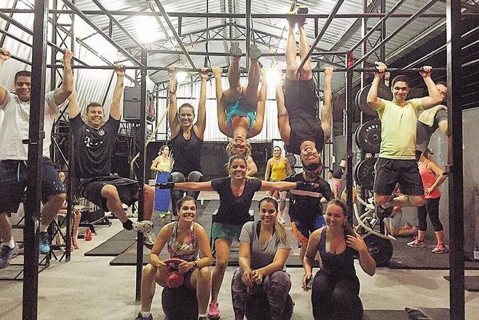 Evento foi aberto para iniciantes, intermediários e avançados no CrossFit (Foto: Divulgação)