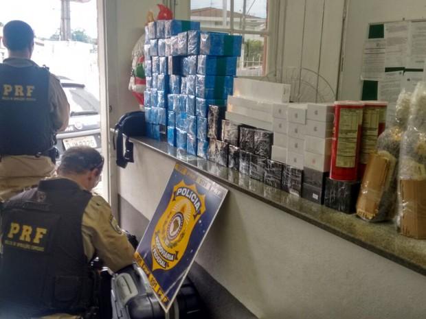89207b29466 Polícia apreende carga de Iphone avaliada em R  200 mil em Vargem (Foto