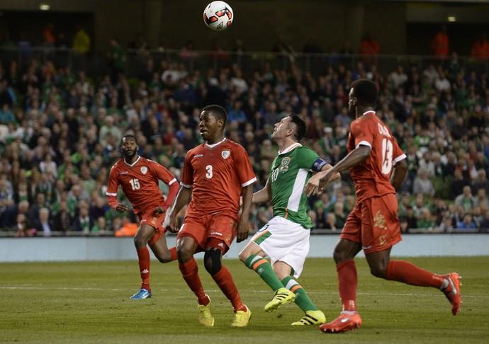 Robbie Keane marcou um golaço em sua despedida nesta quarta-feira, contra Omã (Foto: Reuters )