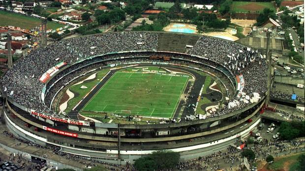 Paulistão 1993 Palmeiras Corinthians Morumbi (Foto: Clóvis Ferreira / Agência Estado)