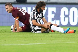 Totti e Pirlo Juventus e Roma (Foto: AFP)