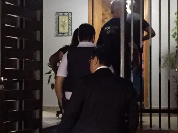Operação prendeu sete advogados no Oeste Paulista nesta terça-feira (22) (Foto: Valmir Custódio/G1)