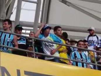 Torcedor Grêmio Gre-Nal (Foto: Reprodução)
