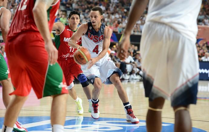 Stephen Curry basquete USA Estados Unidos (Foto: Getty Images)