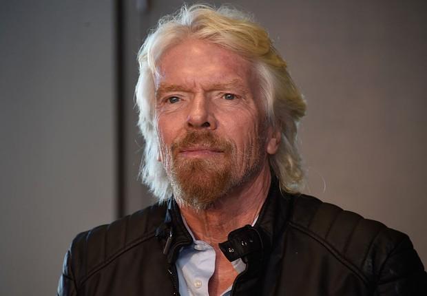 O empreendedor britânico Richard Branson , da Virgin (Foto: Frazer Harrison/Getty Images)